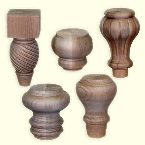 Wood Posts  Bunn Furniture Feet. Home   New Germany Wood Products