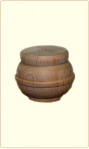 Barrel Shaped Wood Bunn Furniture Foot 1